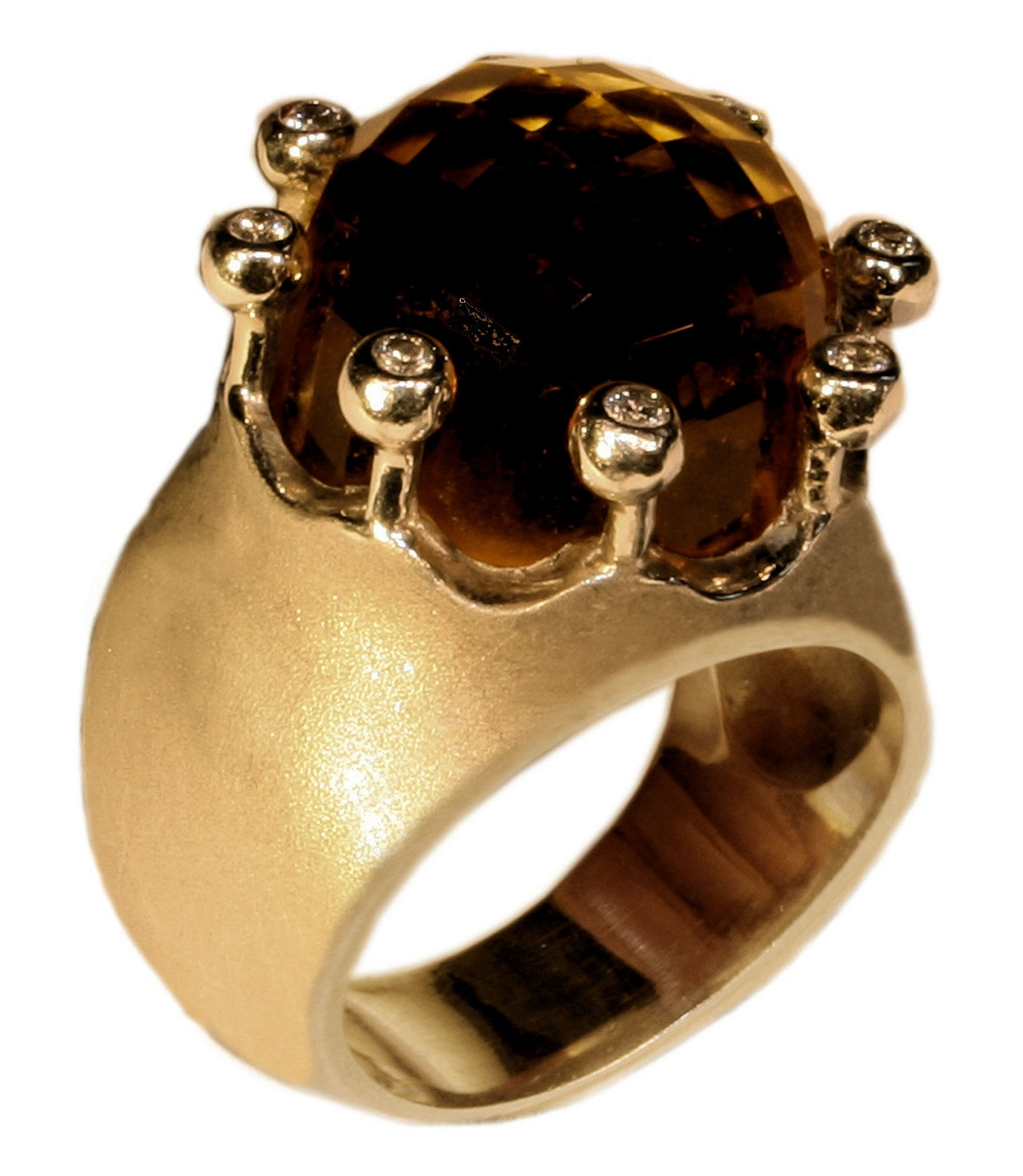 Imperial Crown Ring; Jane Gordon Jewelry