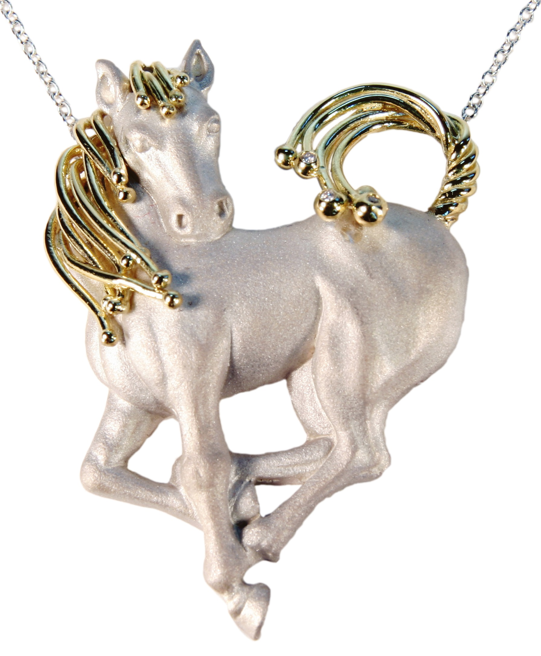 Horse Necklace- Love is Everywhere